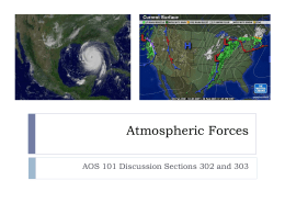 Atmospheric Forces