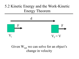 Ch 5 Powerpoint - Mr. Ward`s Physics Page