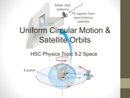 uniform circular motion - Pixelcowboy Physics
