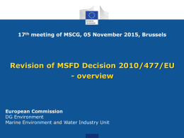 MSCG_17-2015-05Ba_GESDecisionOverview