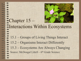 Interactions Within Ecosystems0
