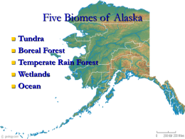Five Biomes of Alaska - Anchorage School District