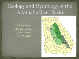 Fish Species Diversity in the Ohoopee and Lower Oconee