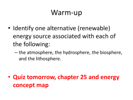 Chapter 25 Earth Resources