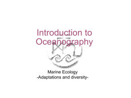Chapter 9 Marine Ecology