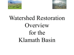 Restoration for Healthy Farms and Fish