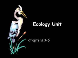 Ecology Unit - Newark Central School / Overview