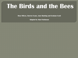 birds and the bees presentation
