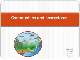 Priedas_1_Communities and ecosystems