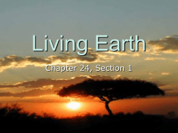 Living Earth - Choteau Schools