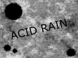 What is Acid Rain?