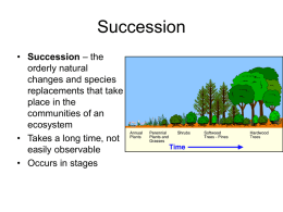 Succession _ Biomes
