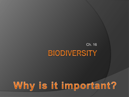 biodiversity - OCPS TeacherPress