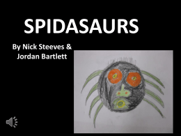 spidasaurs - Piers Wikispaces