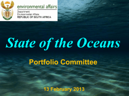 State of the Oceans
