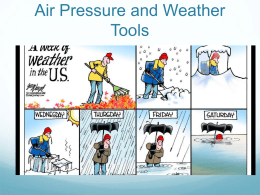 Air Pressure and Weather Tools