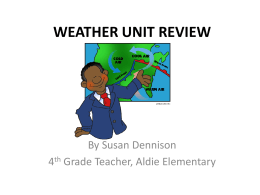WEATHER UNIT REVIEW
