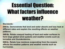 Factors of Weather PPT