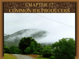 class #9 common ifr producers and flight procedures