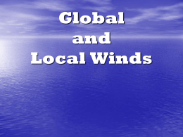 Global and Local Winds Powerpoint