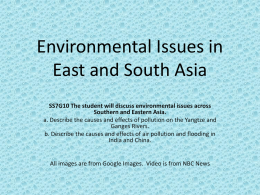 China | Environmental Issues PPT