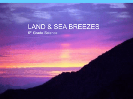Land and Sea Breezes - Atlanta Public Schools