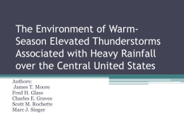 The Environment of Warm-Season Elevated Thunderstorms