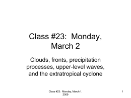 Class #25: Friday, March 7