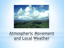 Atmospheric Movement