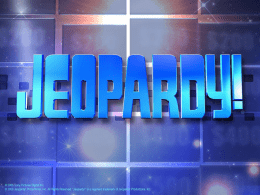 AtmosphereJeopardy