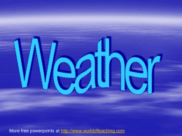 Weather-Powerpoint
