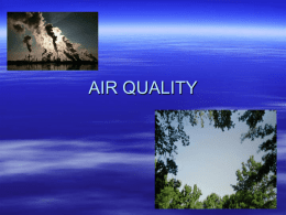air quality - School District of La Crosse