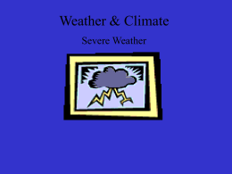 Weather & Climate - Rocklin Academy Meyers