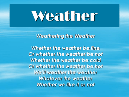 Weather - Doral Academy Preparatory
