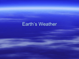 Earth Science Honors - Unit 5 -Intro to weather-3