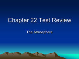 Chapter 22 Test Review