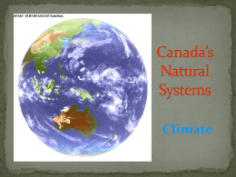 Climate - Menihek Home Page