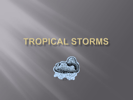 Tropical Storms - Education Scotland