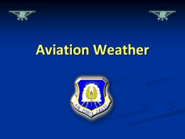 How Types of Severe Weather Affect Aviation—Thunderstorms