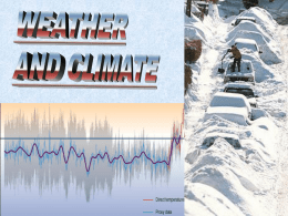 Letts - Weather and Climate