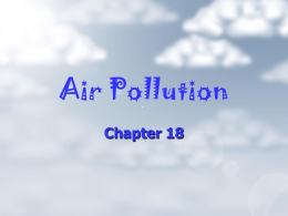 Air pollution - Duluth High School