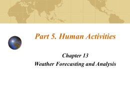 PowerPoint Presentation - Understanding Weather and Climate Ch 13