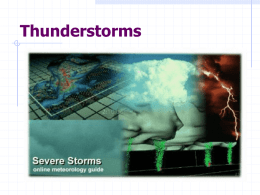 Thunderstorm PowerPoint - Junction Hill C