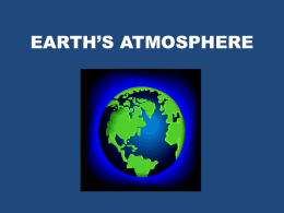earth`s atmosphere - Ashland Independent Schools