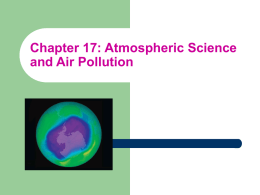 ES Chapter 17 Air Pollution with pictures