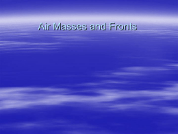 Air Masses - District 128 Moodle