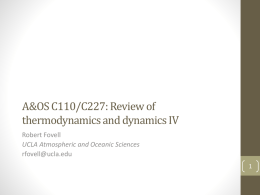 Review of thermo and dynamics, Part 4 (pptx)