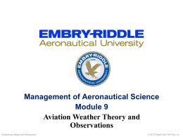 Module 9 - May 17 - Aerospace and Aviation