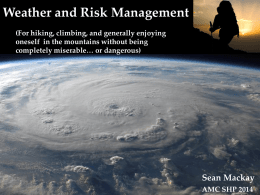 Weather and Risk Management - hbbostonamc.org