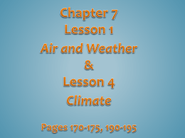 Chapter 6, Lesson 1 - Bloomsburg Area School District